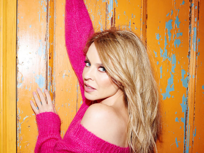 KYLIE MINOGUE 'DISCO' TOPS THE CHARTS!