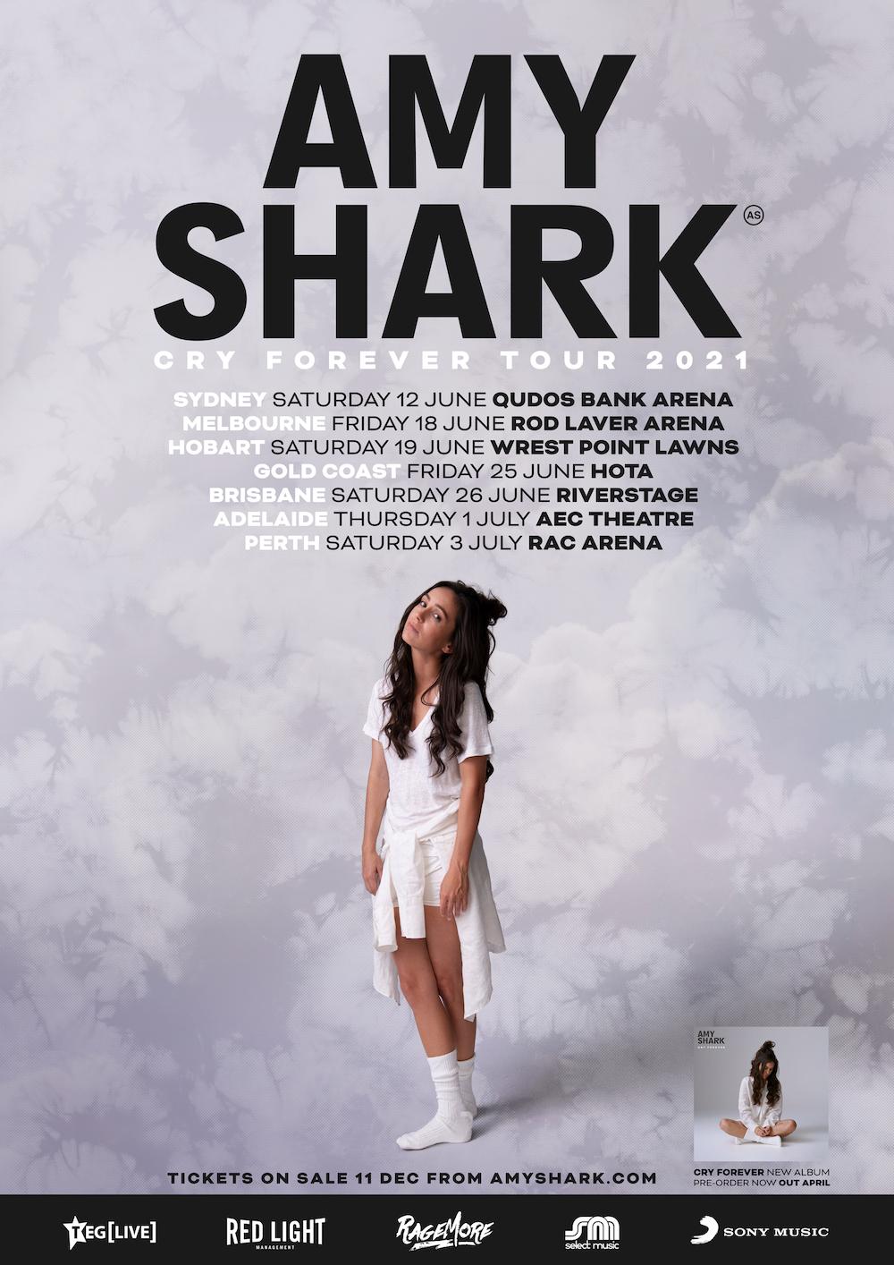 AMY SHARK ANNOUNCES 2021 HEADLINE TOUR