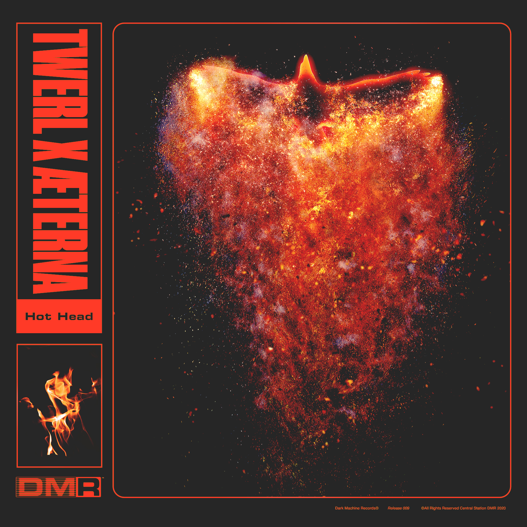 TWERL & ÆTERNA JOIN FORCES FOR THE RELEASE OF 'HOT HEAD'  [OUT NOW ON DARK MACHINE RECORDS]