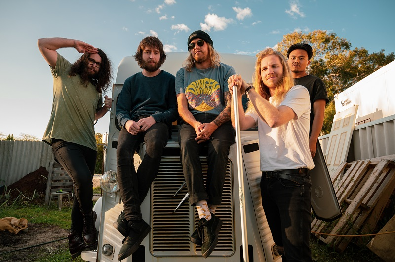 Psychedelic Porn Crumpets are amped for the New Year with brand new single Pukebox!