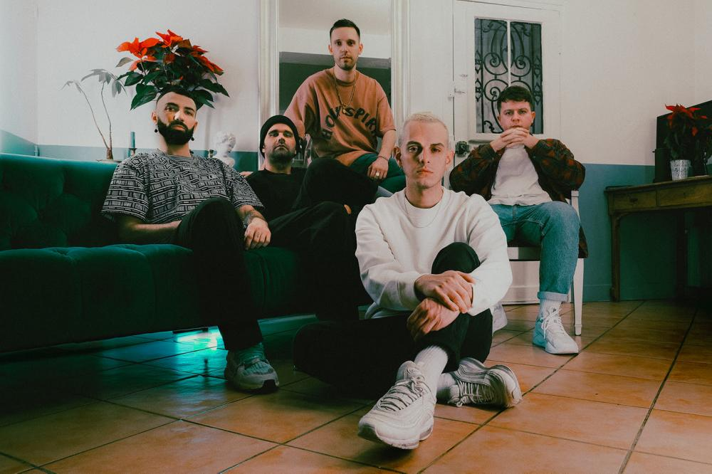 LANDMVRKS RELEASE NEW SINGLE/VIDEO 'TIRED OF IT ALL' & NEW ALBUM 'LOST IN THE WAVES' OUT NOW