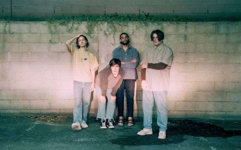 PINKISH BLU return with new single 'BACKWARD'  Adelaide four-piece touring with ODETTE through May