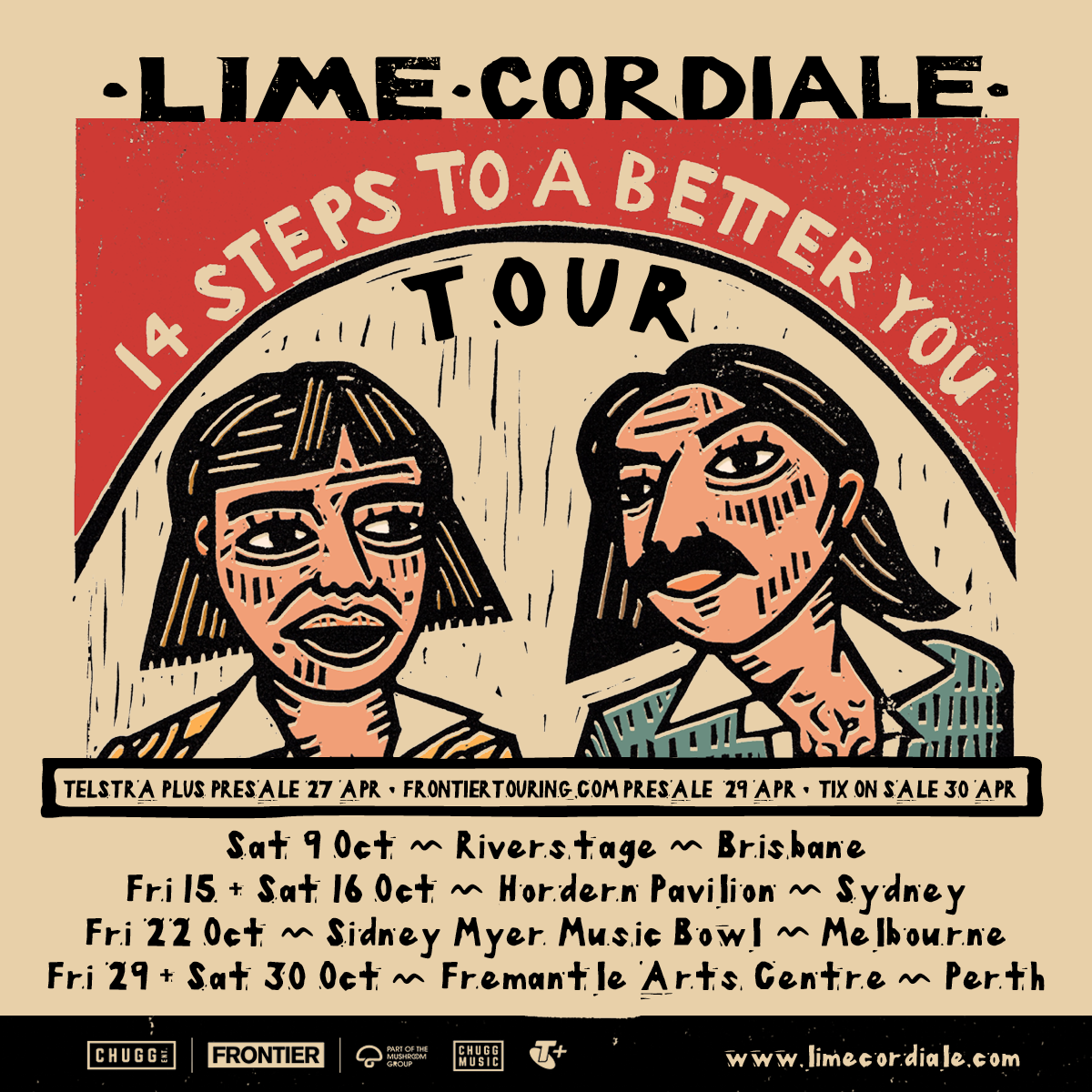 Lime Cordiale announce national '14 Steps To A Better You' tour | Band to play their biggest ever headline dates this October