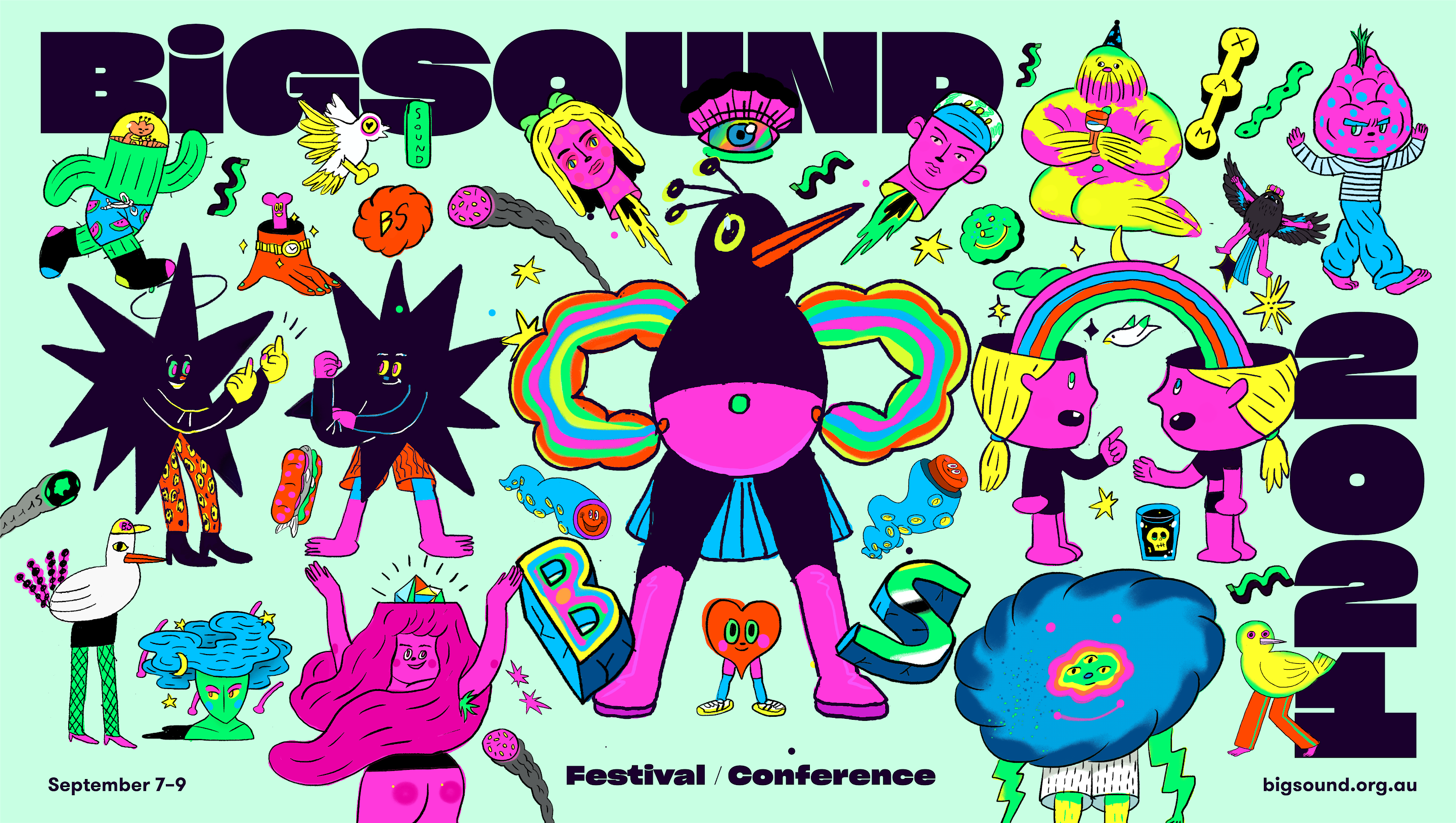 COVID CANCELS BIGSOUND, LITTLE BLAKSOUND TO PROCEED