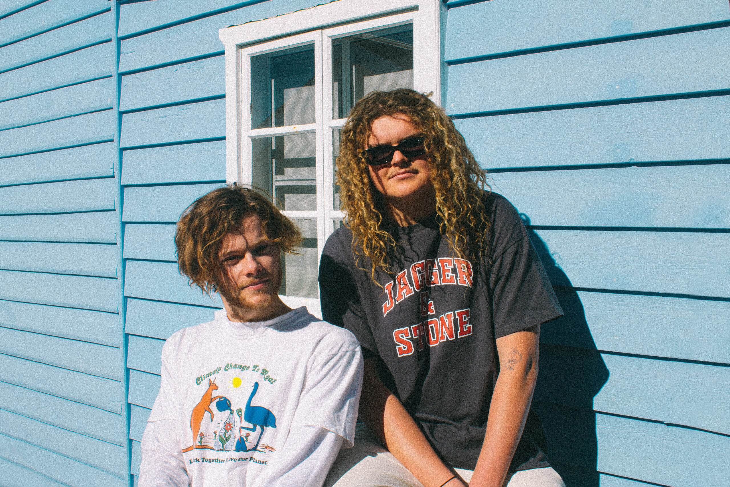 Jervis Bay duo Debbies unveil video for their current single 'Sinner'.