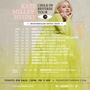 Kate Miller-Heidke tour poster