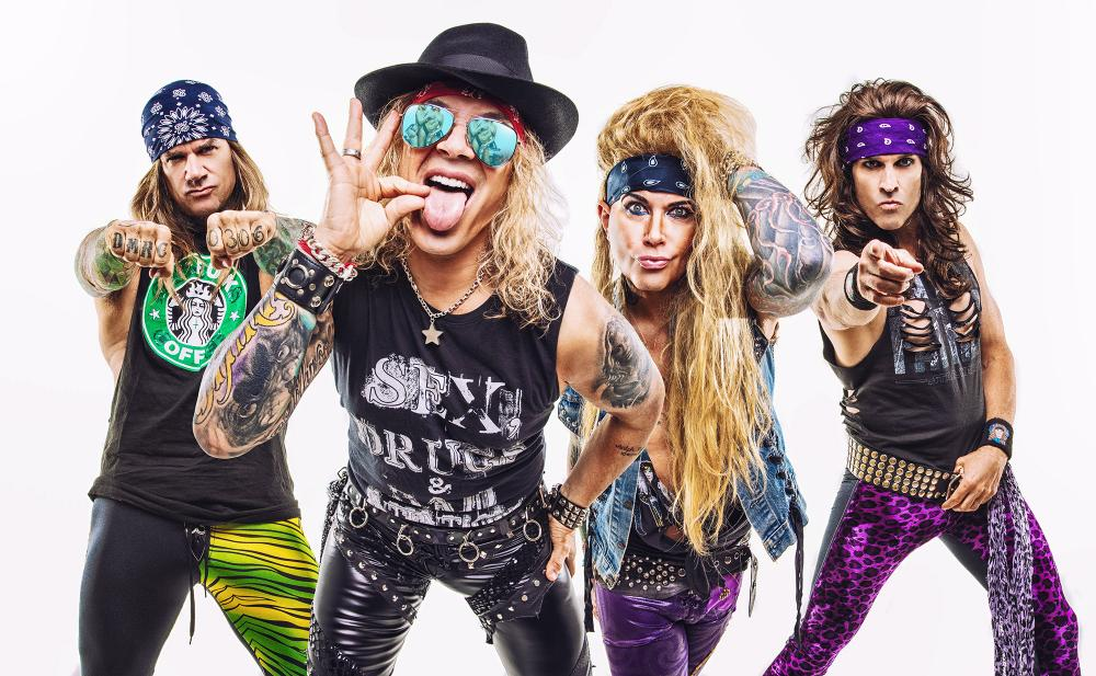 STEEL PANTHER DROP NEW SINGLE FROM FIFTH STUDIO ALBUM 'HEAVY METAL RULES'