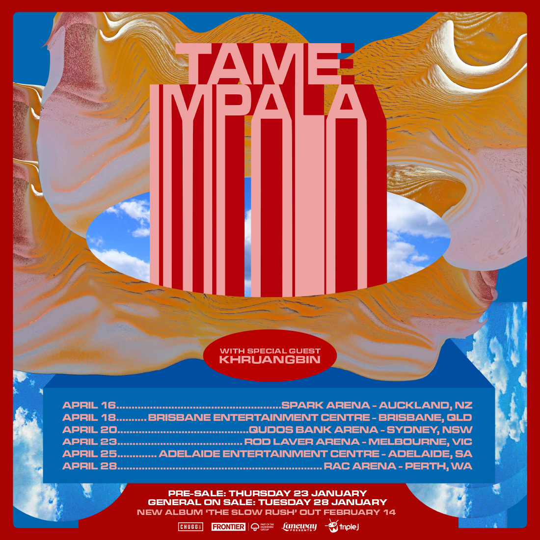 TAME IMPALA ANNOUNCE BIGGEST EVER AUSTRALIA & NZ TOUR FOR APRIL 2020